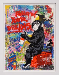 Mr. Brainwash, 'Follow Your Dreams' (Unique), 2020