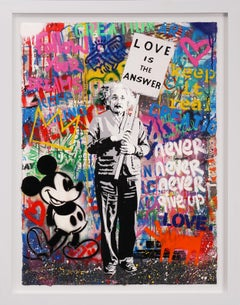 Mr. Brainwash, 'Love Is The Answer' (Unique), 2020
