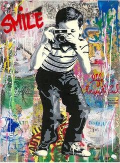 Smile by Mr. Brainwash