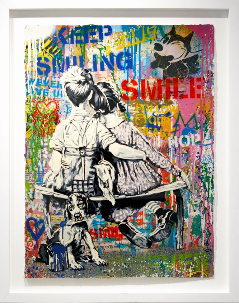 Work Well Together - Mixed Media Art by Mr. Brainwash