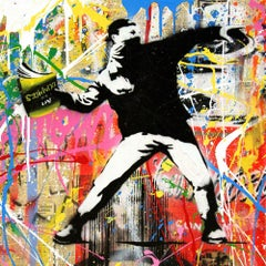 Banksy Thrower (20) by Mr. Brainwash