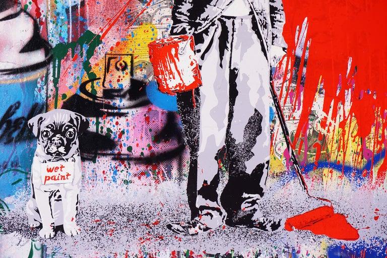 Mr. Brainwash, Juxtapose (Unique), 2020 For Sale 2