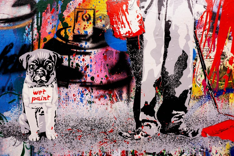Mr. Brainwash, Juxtapose (Unique), 2020 For Sale 4
