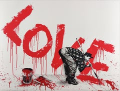 All You Need Is, Mr. Brainwash, Contemporary Street Art Print