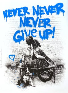 Don't Give Up! (Blue)