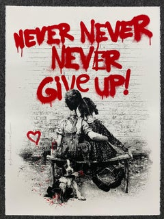 Don't Give Up (Red)
