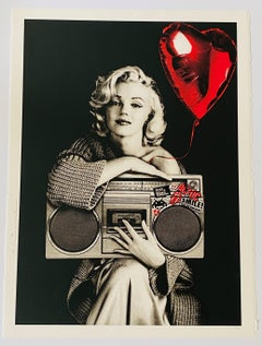 "Mr. Brainwash ""Happy Birthday To Me"" Marilyn Monroe Screen Print, circa 2019"