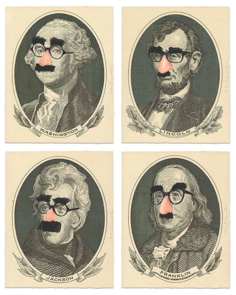 Mr. Brainwash Portrait Print - INCOGNITO