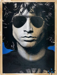 Jim Morrison, Mr. Brainwash Street Art Contemporary Print