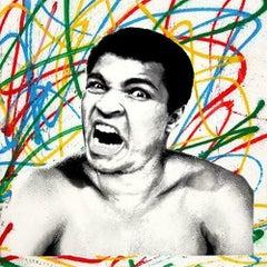 Mr. Brainwash, Legendary Ali Screen print hand finish signed and numbered