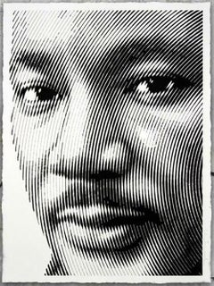 """Mr. Brainwash - Martin Luther """"King"""" Jr. 2017 Screen print signed & numbered"""