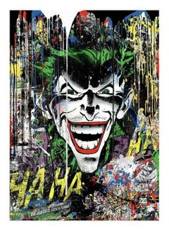 Mr. Brainwash - The Joker, Screenprint signed and numbered with thumbprint verso