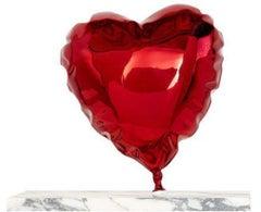 Balloon Heart-Chrome Red by Mr. Brainwash