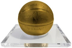 Basketball-Gold by Mr. Brainwash