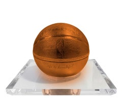 Basketball-Orange by Mr. Brainwash