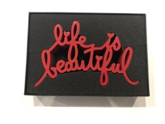 Life is Beautiful (Red)