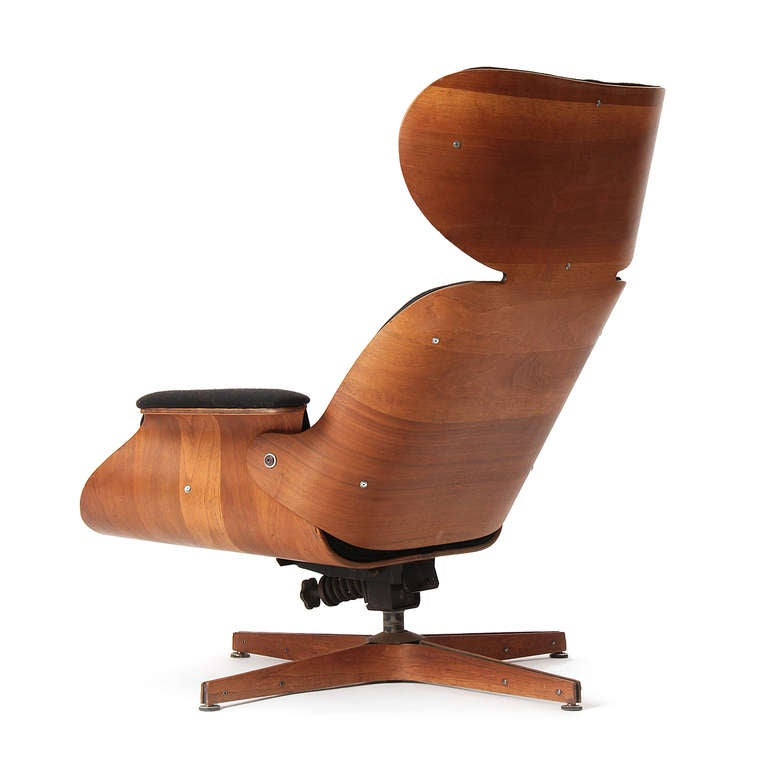 American Mr. Chair Lounge Chair by George Mulhauser for Plycraft For Sale