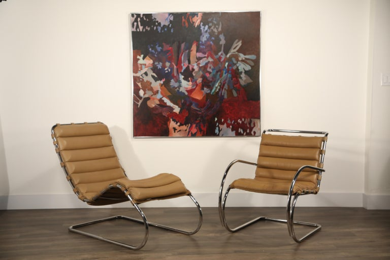 MR Chaise Lounge Chair by Mies van der Rohe for Knoll International, Signed 1978 10