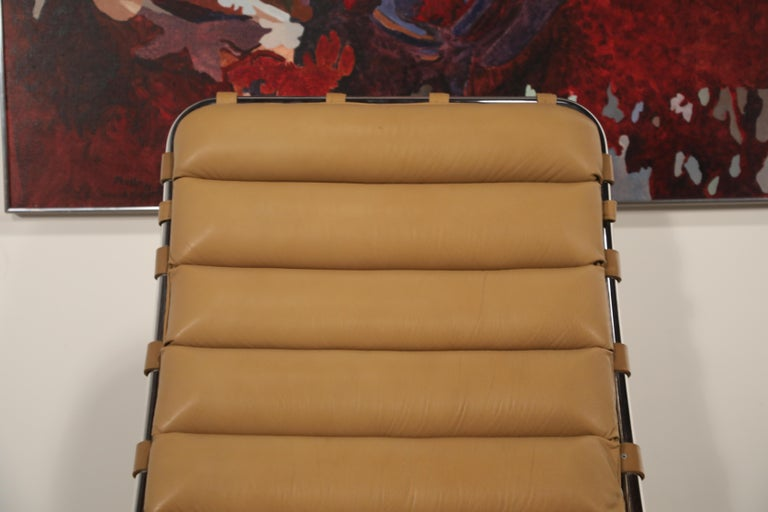 MR Chaise Lounge Chair by Mies van der Rohe for Knoll International, Signed 1978 11