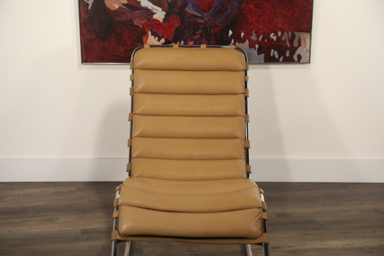 MR Chaise Lounge Chair by Mies van der Rohe for Knoll International, Signed 1978 12