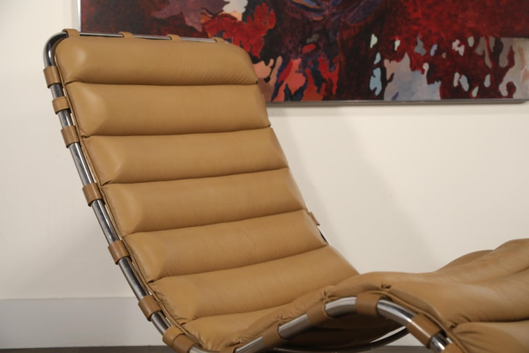 MR Chaise Lounge Chair by Mies van der Rohe for Knoll International, Signed 1978 15