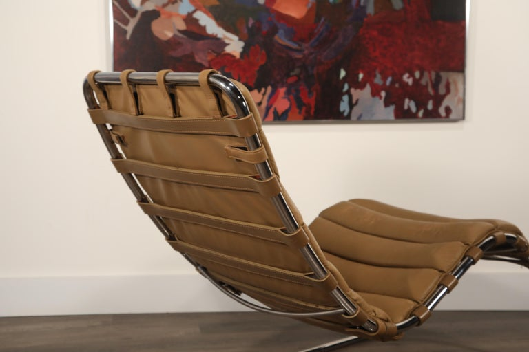 MR Chaise Lounge Chair by Mies van der Rohe for Knoll International, Signed 1978 17
