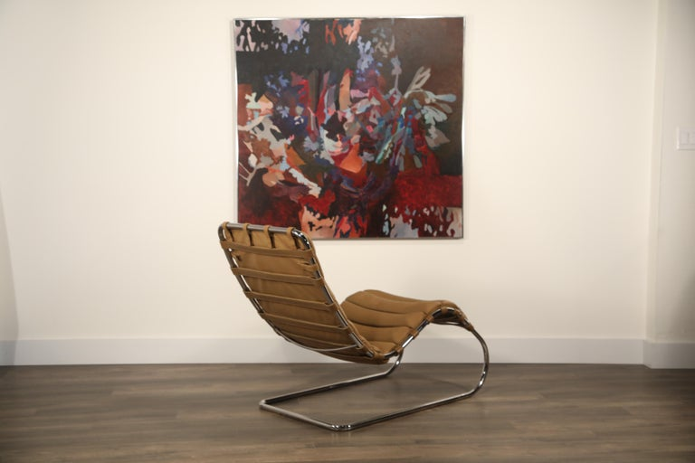 MR Chaise Lounge Chair by Mies van der Rohe for Knoll International, Signed 1978 4