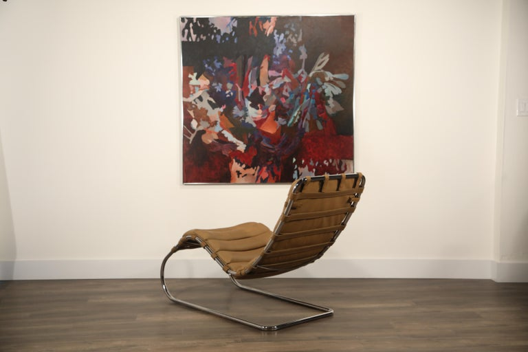 MR Chaise Lounge Chair by Mies van der Rohe for Knoll International, Signed 1978 5