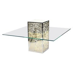 """Mr Empire E Miss Chrysler Sotto Il Mare"" Table by Claudio Onorato, 2009 Glass"