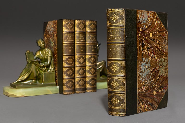 M.Savary, Memoirs Of The Duke Rovigo In Good Condition For Sale In New York, NY