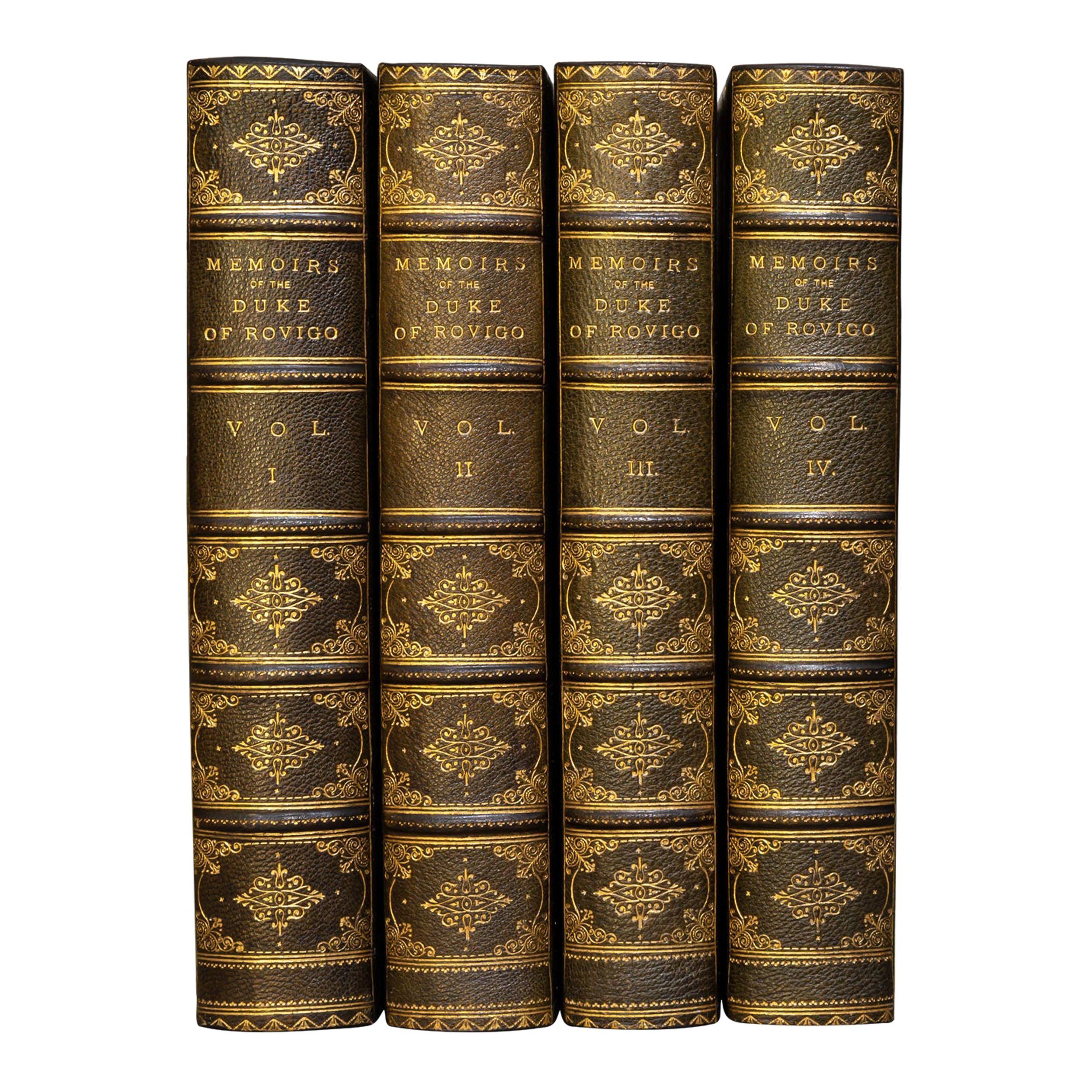 M.Savary, Memoirs Of The Duke Rovigo