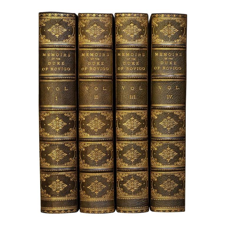 M.Savary, Memoirs Of The Duke Rovigo For Sale