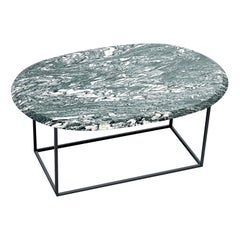 MT Low Coffee Table with Cipollino Marble Top