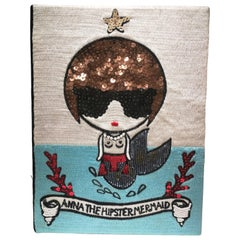 Mua Mua Anna the Hipster Mermaid Book Pochette / Shoulder Bag
