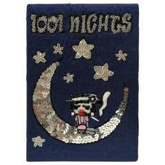 Mua Mua Coco 1001 Nights Blu Book Pochette Shoulder Bag