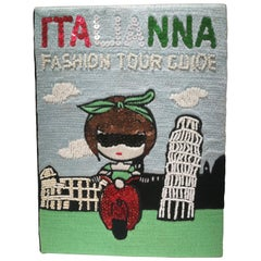 Mua Mua ItaliAnna Fashion Tour Guide Book Pochette