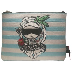 Mua Mua Karletto Hipster Sailor Small Zip Pochette