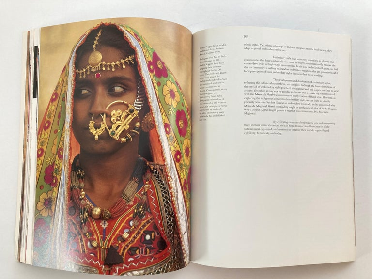 Paper Mud, Mirror and Thread: Folk Traditions of Rural India Book by Coffee Table Book For Sale