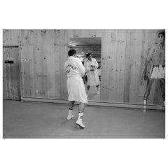 Muhammad Ali, Deer Lake, Pennsylvania, 1977, Allan Tannenbaum Photograph