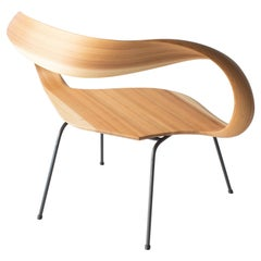 Muji 1 Seater Chair Japanese Contemporary Style Bentwood Chair