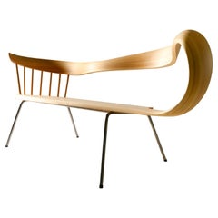 Muji 2 Seater Chair 2 Japanese Contemporary Style Bentwood Chair
