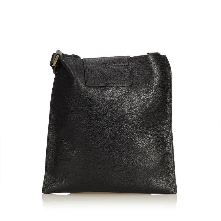 Mulberry Black Leather Antony Messenger Bag In Good Condition For Sale In  Orlando, FL 2568e02651