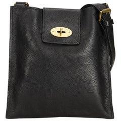 Mulberry Black Leather Antony Messenger Bag at 1stdibs a54498321d583