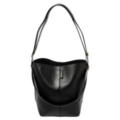 Mulberry Black Leather Studded Hobo