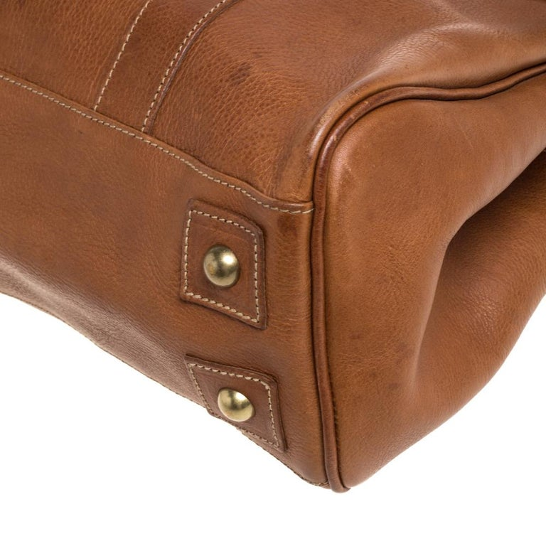 Mulberry Brown Leather Bayswater Satchel 7