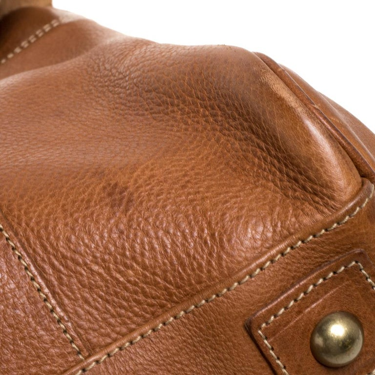 Mulberry Brown Leather Bayswater Satchel 8