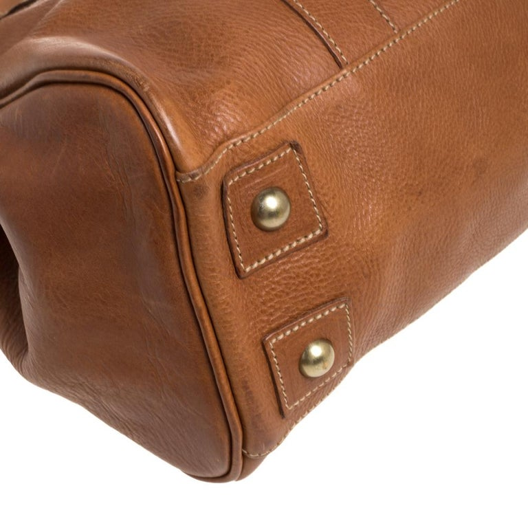 Mulberry Brown Leather Bayswater Satchel 1
