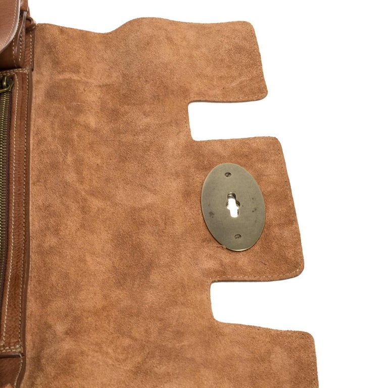 Mulberry Brown Leather Bayswater Satchel 2
