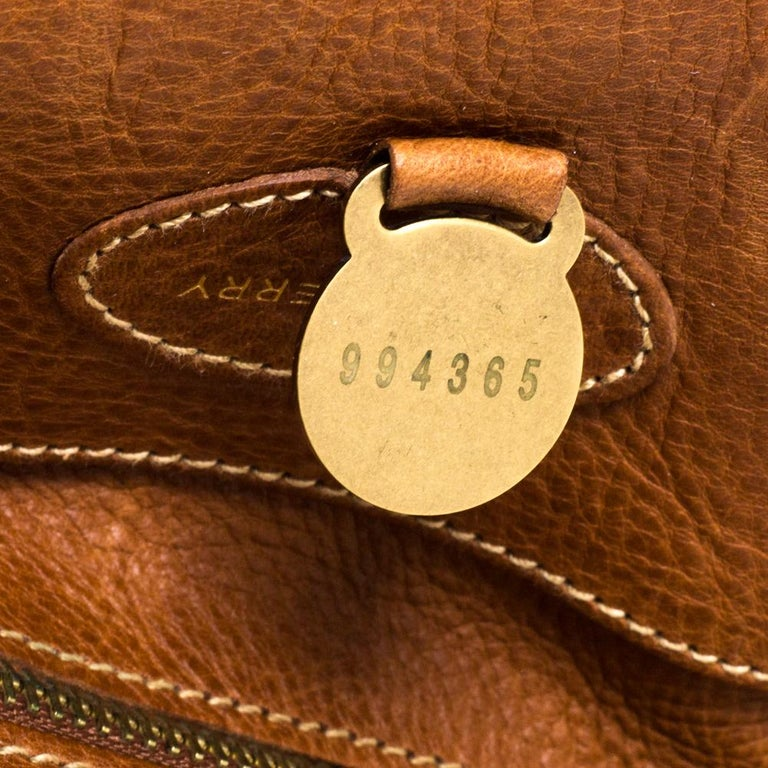 Mulberry Brown Leather Bayswater Satchel 3