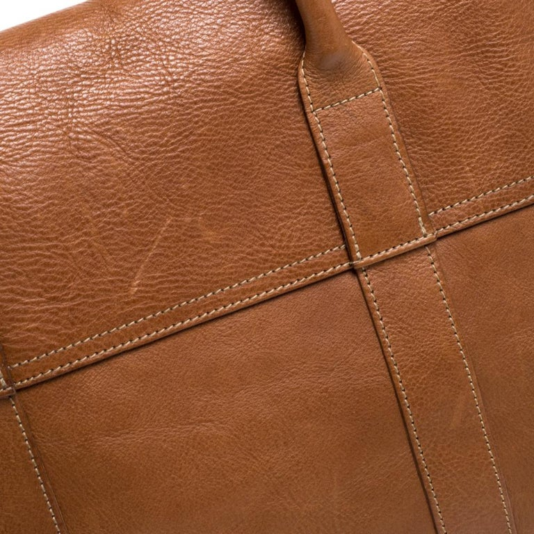 Mulberry Brown Leather Bayswater Satchel 4